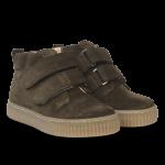 Sneaker with adjustable velcro closure