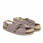 Sandal with soft foot bed