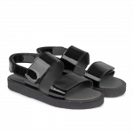 Sandal with velcro closure