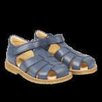 Sandal with adjustable velcro closure