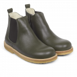Chelsea Boot with wool lining and inside zipper