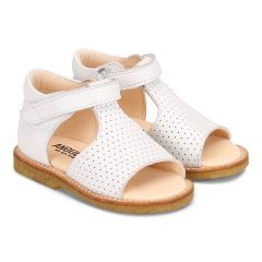 Starter sandal with open toe and velcro closure