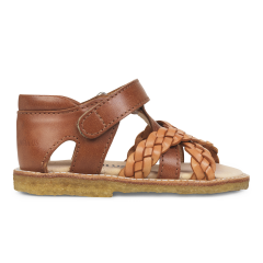 Starter sandal with adjustable velcro closure