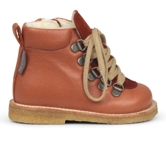 Starter TEX-boot with laces and zipper