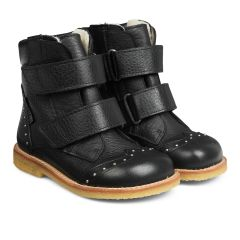 TEX-boot with velcro closure and studs