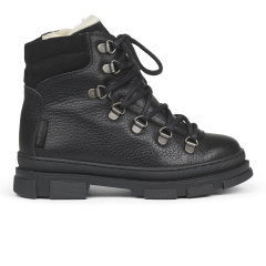 TEX-boot with laces and zipper