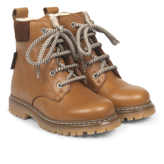 TEX-boot with lace closure and zipper
