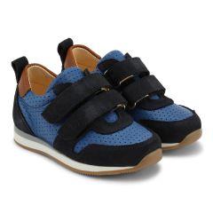 Classic sneakers w. velcro