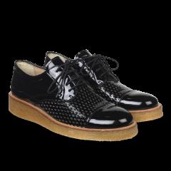 Lace-up shoe w cut-out details