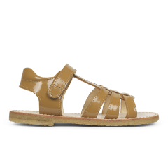 T-bar sandal with velcro closure
