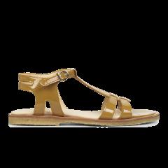 Feminine sandal with strap design.