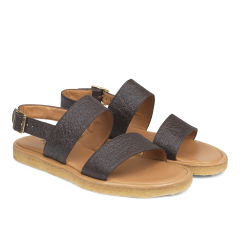Sandal with plateau sole VEGAN