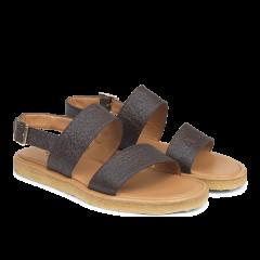 Sandal with plateau sole VEGAN