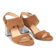 Sandal with blockheel