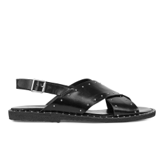 Sandal with studs