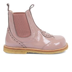 Chelsea boot with heart detail