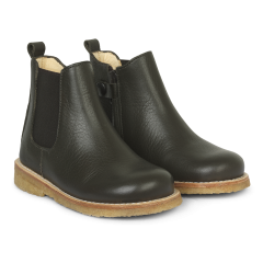 Chelsea Boot with inside zipper