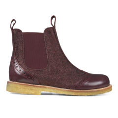 Chelsea Boot w. elastic, zipper and wool lining