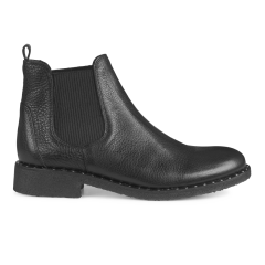 Classic Chelsea boot with stud detail.