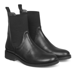 Boot w. elastic slip-on design