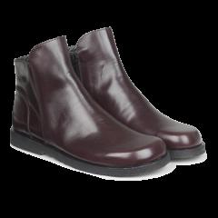 Boot w. zipper wide fit