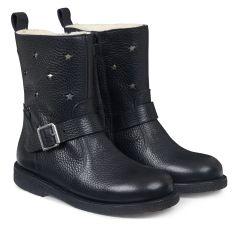 TEX-Boot w. stars and zipper