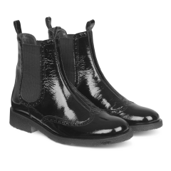 Chelsea boot w. hole pattern