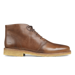 Desert boot with laces