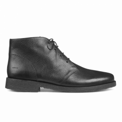 Desert boot with laces and woollining