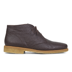 VEGAN desert boot with laces
