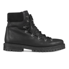 Lace-up Boot with wool lining